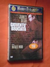 DVD FILM -JAMES DEAN-GIOVENTU' BRUCIATA- CON NATALIE -CONTIENE 2 DVD-SIGILLATO