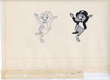 Chuck Jones Original Animation Cel with Art Gillette Ad Sharpie the Parrot 60s