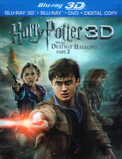Harry Potter and the Deathly Hallows: Part II (Blu-ray Disc, 2012, 4-Disc Set, …