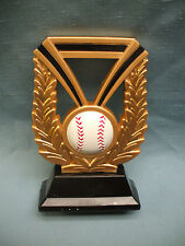 dura resin wreath baseball trophy Free engraving Dur1001