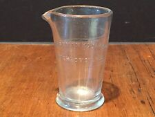 Vintage Eastman Kodak Photograph Developing Darkroom Glass Measuring Cup