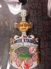 HARD ROCK CAFE*YANKEE STADIUM,NEW YORK*CITY TEE V15* PIN*VERY NICE*BRAND NEW
