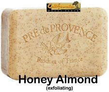 Pre de Provence French Soap HONEY ALMOND Fragrance 150 Gram Bath Bar Shea Butter