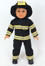 "FireFighter Fireman Costume for 18"" American Girl or Boy Doll Clothes  Found IT!"