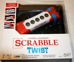 Hasbro SCRABBLE TWIST Crossword Pass & Play Word Game B2140