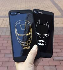 Avengers case For iphone X XS MAX XR 10 8 7 6 6S plus Soft silicone phone cover
