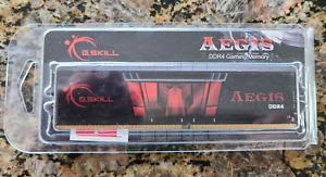 G.SKILL AEGIS DDR4 16Gb(1x16GB) GAMING MEMORY, NEW