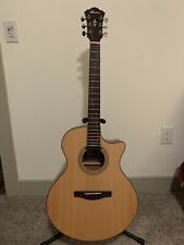 Ibanez Ae275 6-String Semi-Acoustic Guitar Natural With Ibanez Powerpad Gigbag