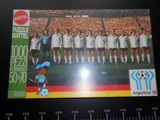 Mb Puzzle Football Calcio Germania Team Argentina 78 Cup Vintage 50 x 70 Fifa