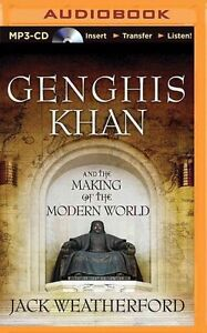 Genghis Khan and the Making of the Modern World (Audiobook MP3 CD)
