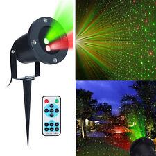Prato Luce LED Lampada del Proiettore Laser Natale Stellato Decorativo+remote