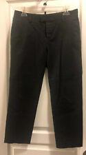 Dsquared2 Black Classic Trouser Dress Pants 42 IT Womens Msrp $480