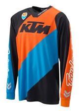 KTM MX-Shirt SE JERSEY SLASH BLACK Gr. XL, Art.Nr. 3PW1723405