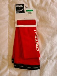 Castelli Nano Flex Arm Warmers Red size XL