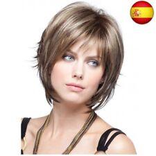 Royalfirst - Peluca de pelo humano natural para mujer, con capuchón de peluca