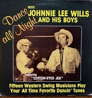 DANCE ALL NIGHT WITH JOHNNIE LEE WILLS*Pre-Owned LP** PLAYED ONCE**