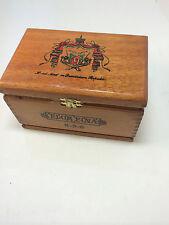A. Fuente Flor Fina Wooden Cigar Box Dove Tailed Construction