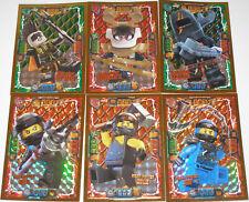 Lego Ninjago Serie 4! 6x LE Karten TGC LE 2 LE 4 LE 6 LE 7 LE 23 und LE 24 NEU!