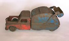 ANTIQUE TOY GARBAGE TRUCK Structo Lumar Wyandotte Tonka Marx Metalcraft Buddy L