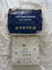 Silentnight Safe Nights Anti Allergy Cot Duvet + Duvet Cover & Pillowcase Set