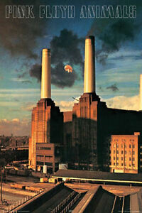 PINK FLOYD ANIMALS POSTER - 24x36 CLASSIC ROCK BAND MUSIC 24918
