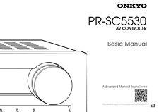 Onkyo Integra PR-SC5530 Basic AV Controller Owners Instruction Manual