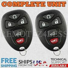 2 For 2007 2008 2009 2010 Chevrolet Traverse Keyless Entry Remote Car Key Fob