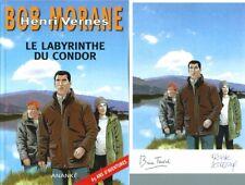 EO BOB MORANE HC 69 BRICE TARVEL + EX LIBRIS SIGNÉ : LE LABYRINTHE DU CONDOR