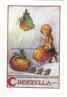 Artist Flora White 'Cinderella' Vintage Postcard 16.2.3