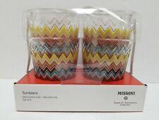 Missoni for Target 4pc Embossed Tumbler Low Set