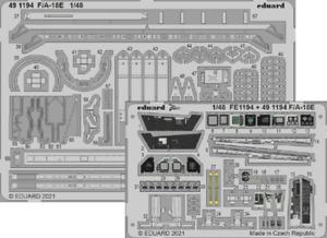 Eduard 1/48 Boeing F/A-18E Super Hornet Detailing Set # 491194