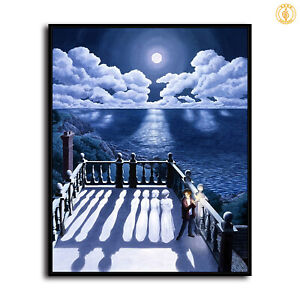 "30x24"" Rob Gonsalves ""Widow's Walk II"" HD print on canvas large size picture"