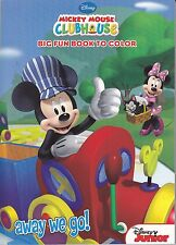Disney Mickey Mouse Coloring Book ~ Away We Go! - FREE SHIPPING