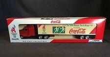 1996 96 Coca Cola Atlanta Olympic Torch Relay Die Cast Truck Lledo England NIB