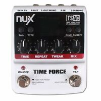 NUX Time Force Multi Modulation Digital Delay Effects Guitar Effect Pedal