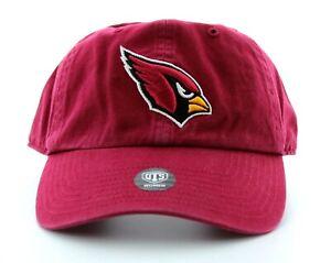 OTS Arizona Cardinals Hat, NFL Womens Ball Cap with Logo, Adjustable