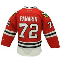 NHL Youth Size Chicago Blackhawks Artemi Panarin Reebok Stitched Jersey New