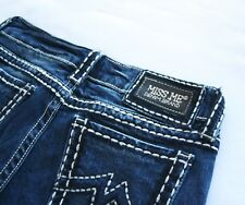 Women's MISS ME JEANS stretch size 29 REG Denim JEANS Sunny Boot Thick Stitch