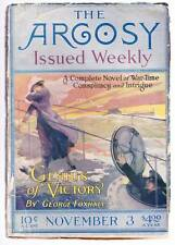 Pulp THE ARGOSY WEEKLY November 3, 1917 - George Foxhall, Victor Rousseau