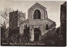 ANDORA - CHIESA ROMANA DEL 200 - MONUMENTO NAZIONALE (SAVONA) 1955
