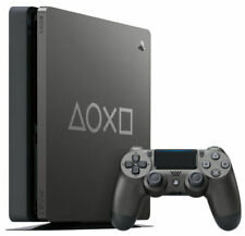 Sony PlayStation 4 Slim Days of Play Limited Edition 1TB Video Game Console - Steel Black