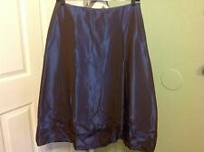 Gorgeous! SHE'S SO Saks Fifth Ave Blue/Purple Crunckle Skirt ~ Size 42 EUR