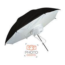 Reflector Brolly Box 78cm Umbrella Soft Studio Flash Strobe Light Diffuser Photo