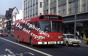 Original 35mm Bus / Coach slide  NEL866M Hants & Dorset 3623 1975.