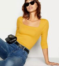 Red Herring at Debenhams - Ribbed Top Size 18 Mustard