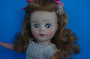 """Vintage American Character Toni Doll Orig. Pink & Silver Dress, Shoes  10 1/2"""""""