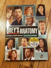 Grey's Anatomy Complete 9th Season- Everything Changes