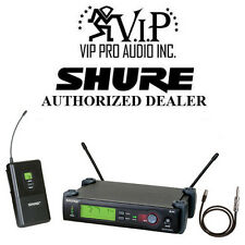 Shure SLX14 UHF Guitar or Bass Wireless System H5 (518 - 542 MHz)