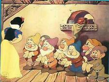 Snow White & the 7 Dwarfs Disney  Special Edition Lithograph dated  1994