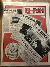 G-Fan Special Collection #1 December 1995 Godzilla Magazine G-Force Rare